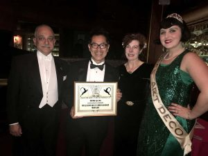 Arthur Dong received Art Deco Award with presenters_lr_1