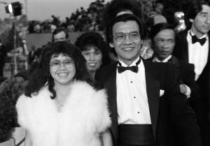 Haing S Ngor, Sophia Ngor, Oscars 1985; AP Photo by Mark Elias