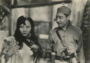 """Anna May Wong and James B. Leong in """"Shanghai Express"""" (1932)"""